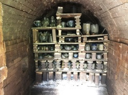 Front half of kiln