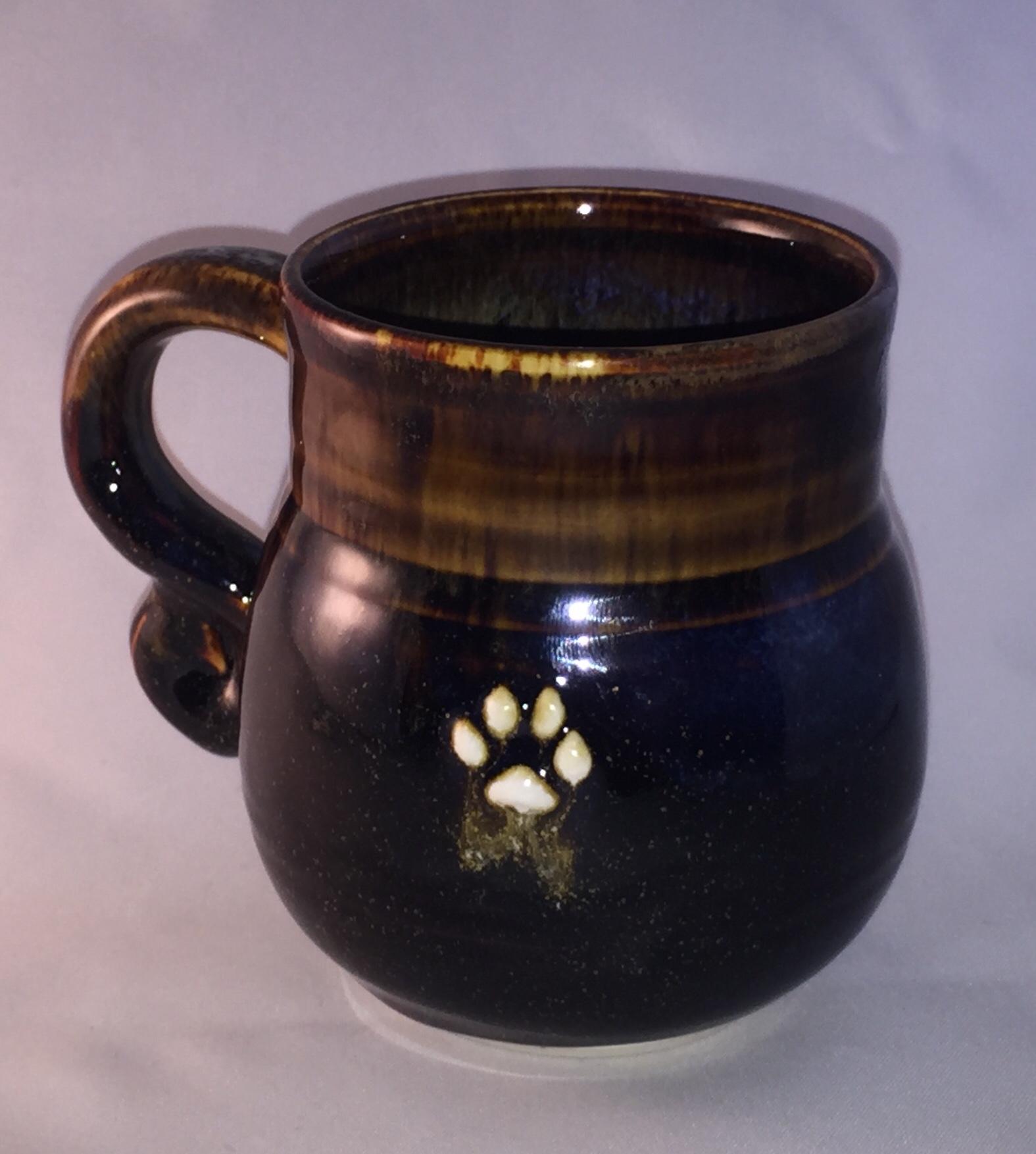 Bear Clan Spirit Handmade Pottery Mug